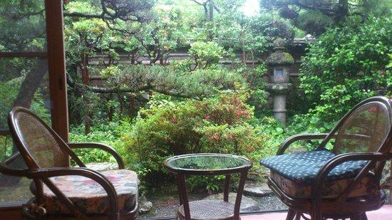 Nantenen: Garden view