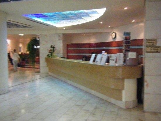 The Jardins d'Ajuda Suite Hotel: La réception