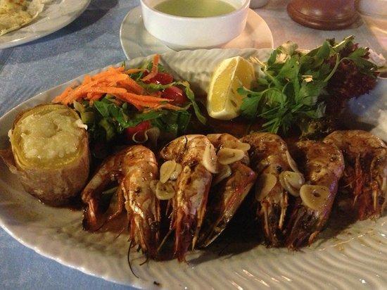 Captain Hook's Seafood Restaurant: Epic Prawns