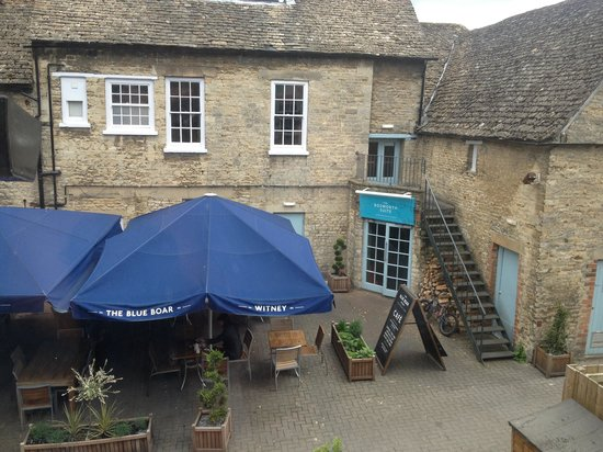 Blue Boar Witney: View from room 20