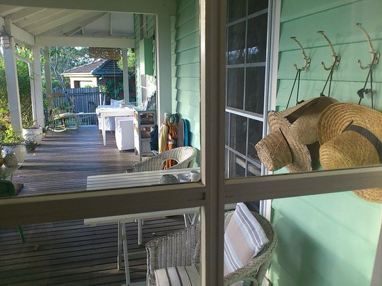 Huskisson Bed and Breakfast : Porch
