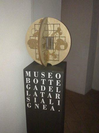 Museobottega della Tarsialignea : una delle opere della collezione dell'architetto Fiorentino