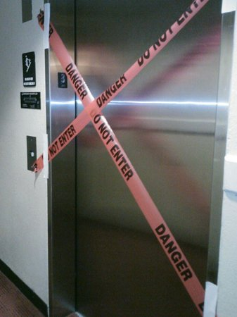 Extended Stay America - Houston - Westchase - Richmond: Broken Elevator at Extended Stay America