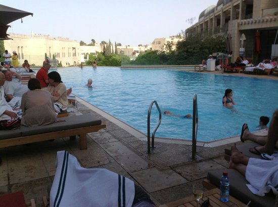 David Citadel Hotel: David Citadel pool + Old City