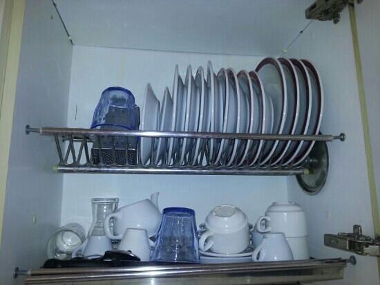 Residence Brown: piatti e bicchieri