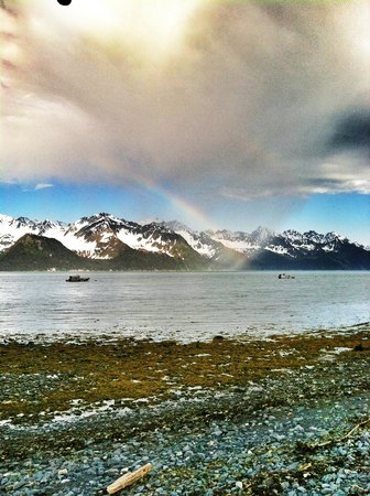 Angels Rest on Resurrection Bay, LLC: Rainbow in front of Cloud 9