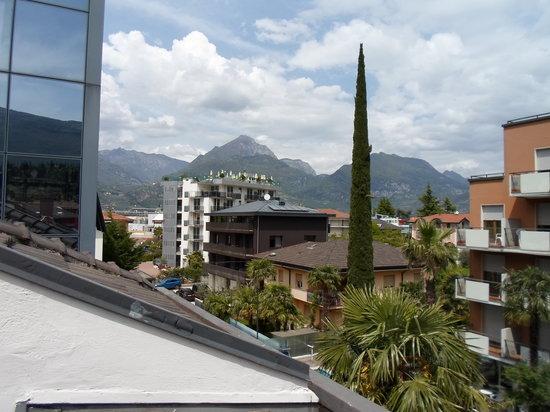 Hotel La Perla : A view from the balcony