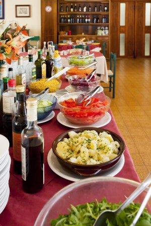 Hotel Bettina: beffet di verdure!