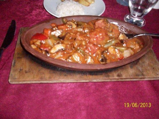 Medusa Restaurant : Best vegetarian casserole in dalyan