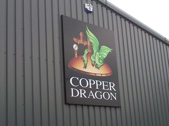 Copper Dragon Bar Bistro: lovely sign