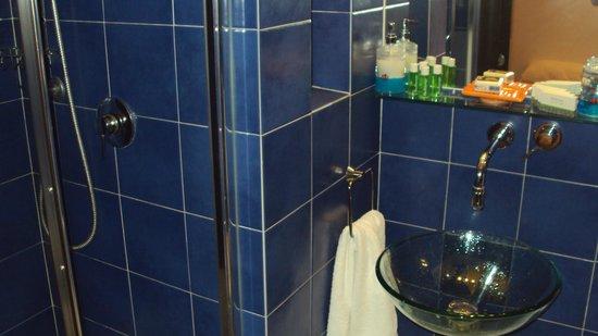 Gli Scipioni Bed & Breakfast: Bagno in camera nuovo e molto pulito