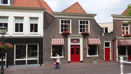 Hotel de Emauspoort: Outside view of Vermeer Room (top floor only)