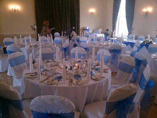 The White Hart Hotel, Eatery & Coffee House: the function suite set up