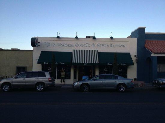 Nic's Italian Steak & Crab House: Exterior of Nic's