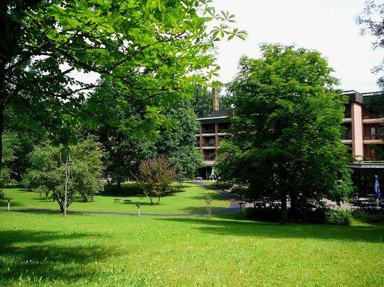 Haus am Landgrafenteich: Gartenansicht