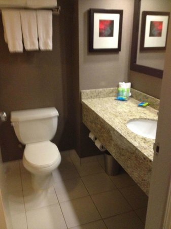 Radisson Hotel Vancouver Airport: Bathroom
