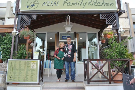Azias Family Kitchen: lovely people