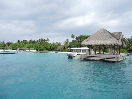 Kuramathi Island Resort: Jetty
