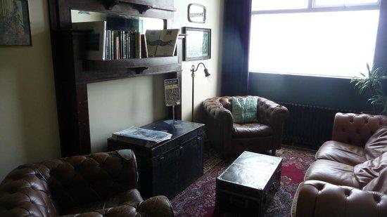 Kex Hostel : lounge on third floor
