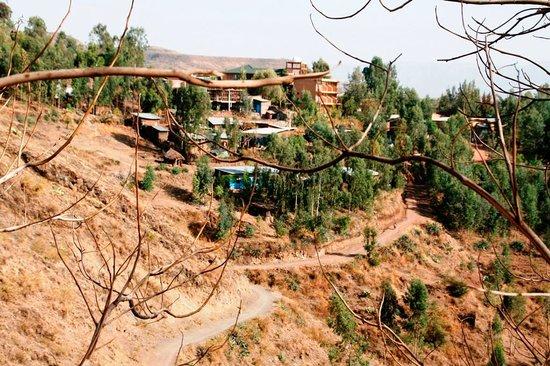 Felsenkirchen von Lalibela: Umgebung