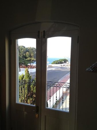 Auberge Burgundy: Sea view from room17