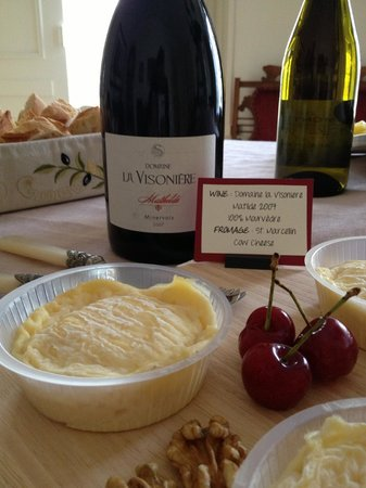 From Vine to Wine : Wine and Cheese