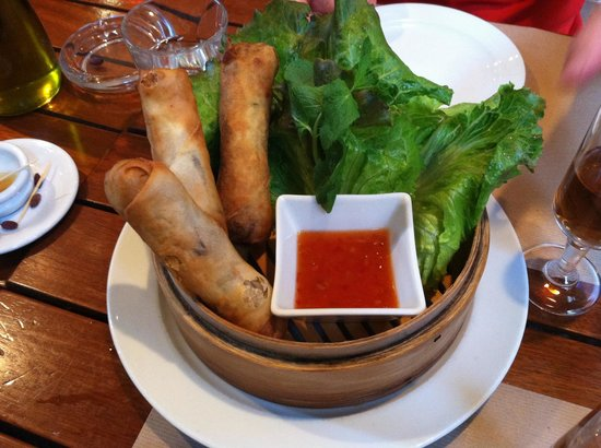 Papayou : Spring rolls