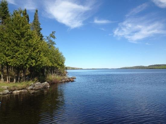 Cross River Lodge: Beautiful Gunflint Lake