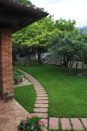 B&B Maratea Garden House: Il giardino