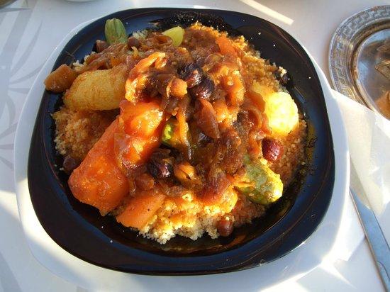 Taj'in Darna : Couscous