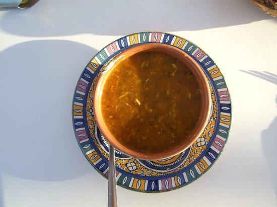 Taj'in Darna : Harira soup