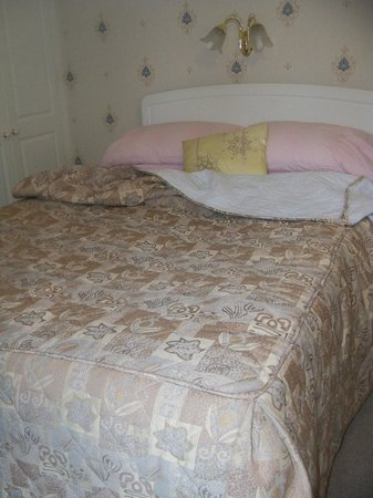 Park View: Our double bed