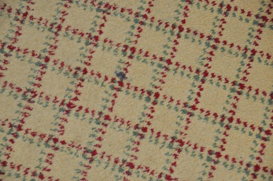 Glasgow Marriott Hotel: Stained carpet in our room