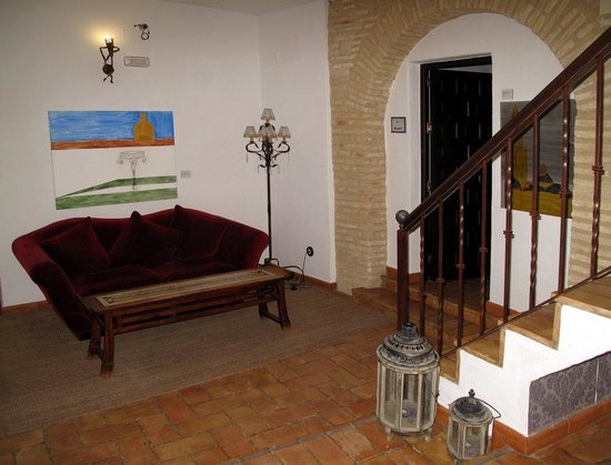 Posada San Fernando: The landing outside room 4