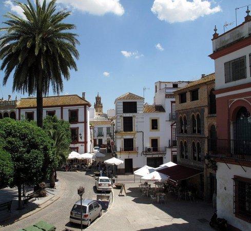 Posada San Fernando : View from the balcony of room 4