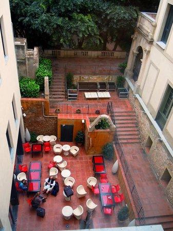 Petit Palace Boqueria Garden: chiostro hotel