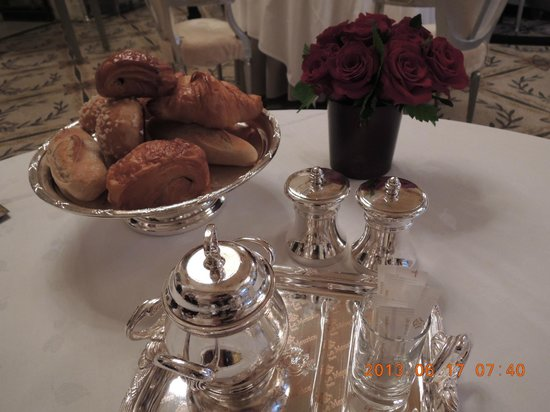 Le Meurice: 朝食のパン