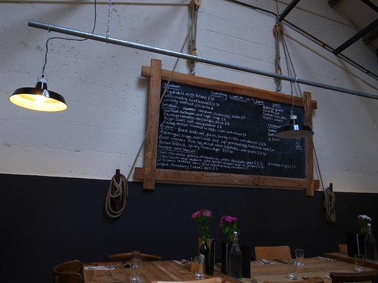 River Cottage Canteen: Menu