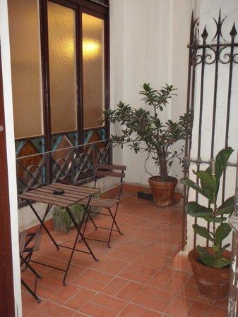 Hotel Center Gran Via: The terrace...