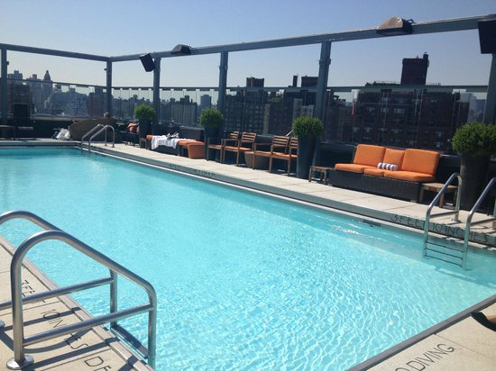 Gansevoort Meatpacking NYC: Quiet and beautiful!!