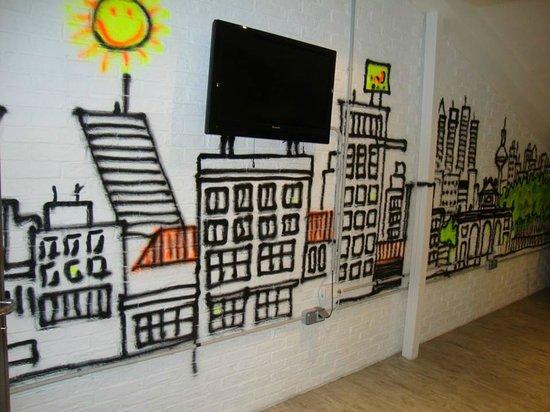 Zona De Terraza Picture Of Room007 Ventura Hostel Madrid
