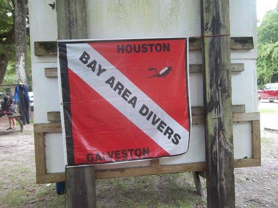 Ginnie Springs: Our dive club banner