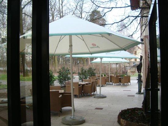 Farmona Hotel Business & Spa : Terraza Restaurant