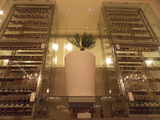 Playacar Palace: cantina vini ristorante italiano
