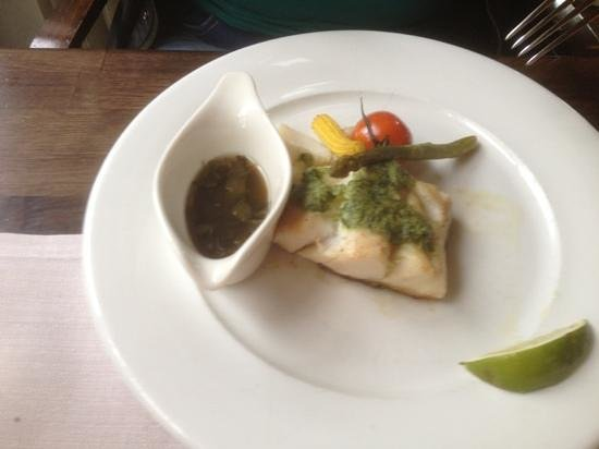 Best Western Hotel Nobis Asten: zalig vis met kerveldressing