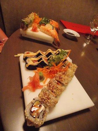 Playacar Palace: sushi