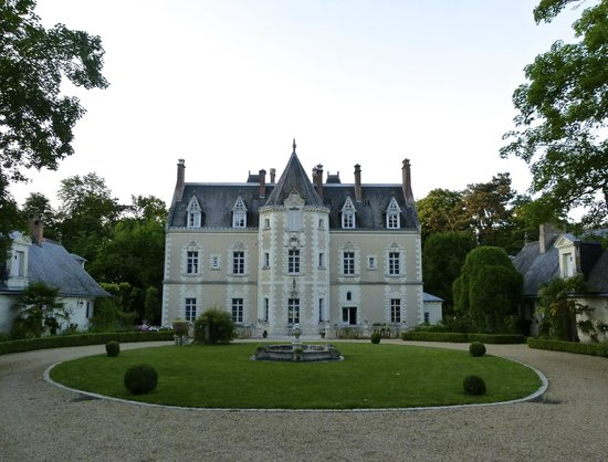 Le Chateau de Fontenay : The front of the château.
