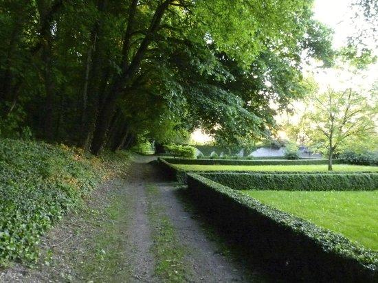 Le Château de Fontenay : Château grounds.