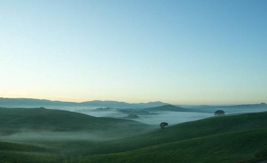 Agriturismo Il Rigo: La mattina...