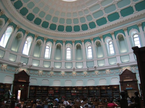 National Library of Ireland: Inner Dome